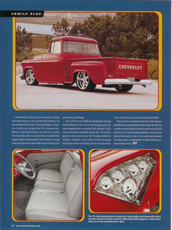 Classic trucks nov for Classic house 2004